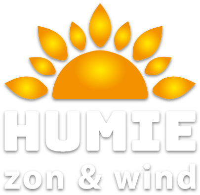 Zon- en Windenergie door Humie in Venlo